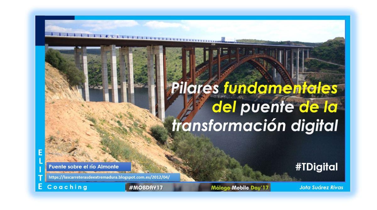 Aprendizaje, Talento Digital y Competencias:  Pilares fundamentales del puente de la Transformación Digital.  (#MOBDAY17 Internalia Group)